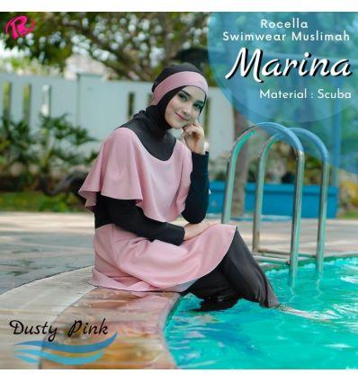 Rocella Swimwear Marina Dustypink
