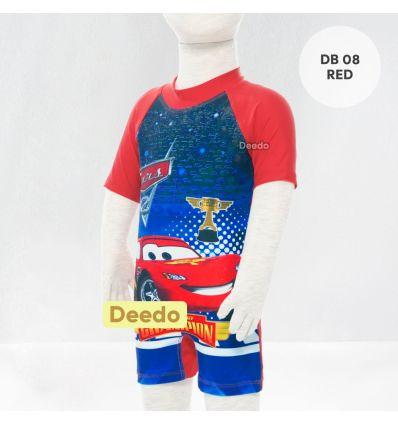 Baju Renang Bayi Deedo DB 08 Red