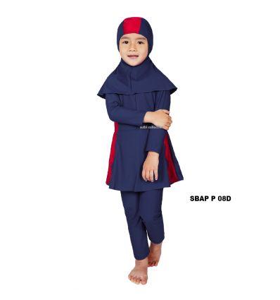 Baju Renang Anak Perempuan Sulbi SBAP P 08 D