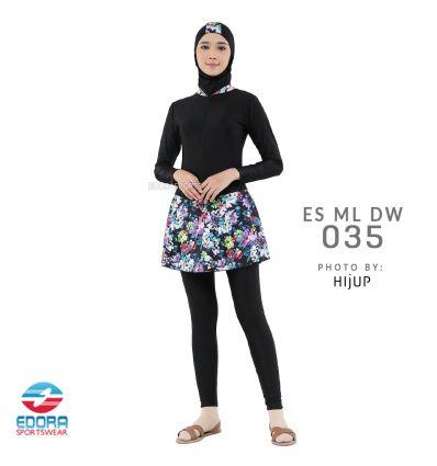 Baju Renang Muslimah Edora ES ML DW 035