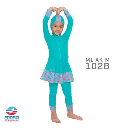 Baju Renang Anak TK Edora ML AK M 102 B
