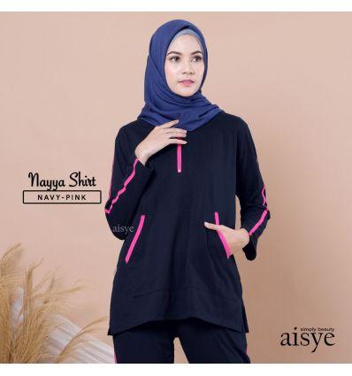 Aiye - Nayya Shirt Navy Pink