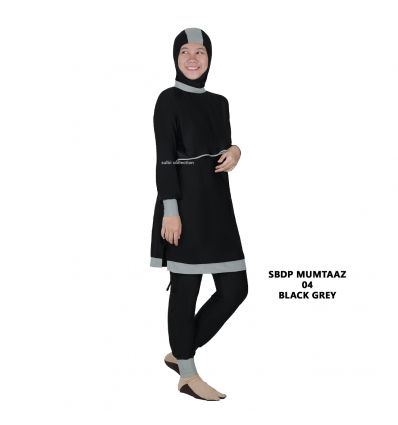 Sulbi - Mumtaaz 04 black grey