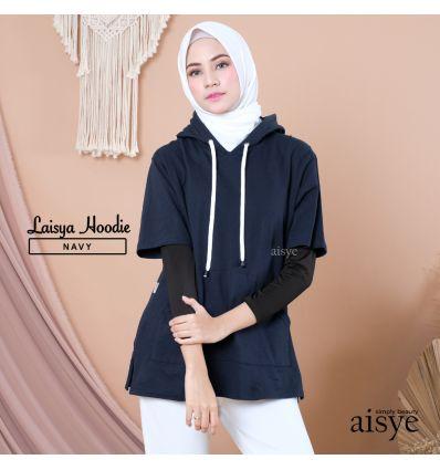 Aisye -Laisya Hoodie Navy