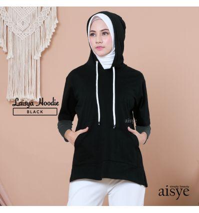 Aisye -Laisya Hoodie Black