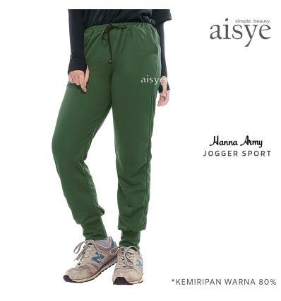 Aisye - Hanna Army Jogger Sport