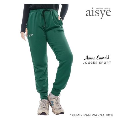Aisye - Hanna Emerald Jogger Sport