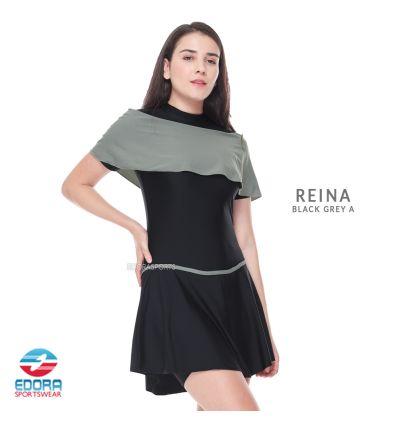 Edorasports - Reina Black Grey A