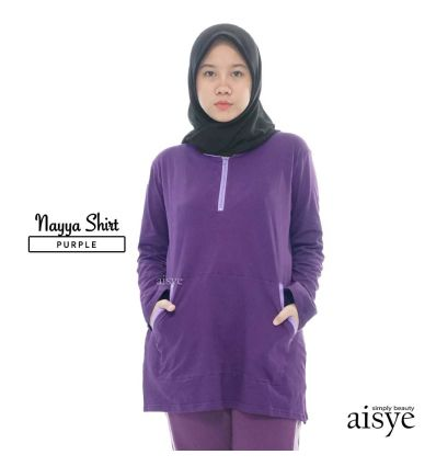 Aisye - Nayya Shirt Purple