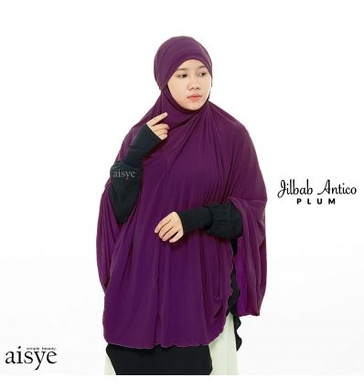Aisye - Jilbab Antico Plum