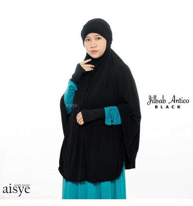 Aisye - Jilbab Antico Black