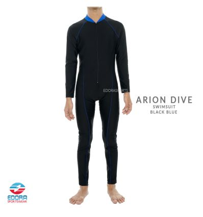 Edorasports - Arion Dive Swimsuit Black Blue