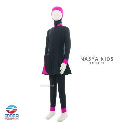 Edorasports - Nasya Kids Black Pink