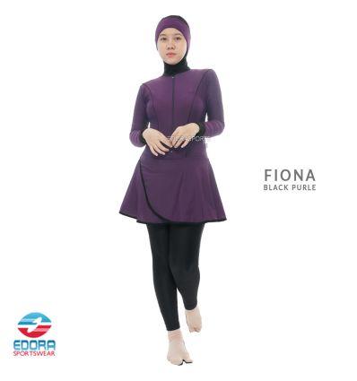 Edorasports - Fiona Black Purple