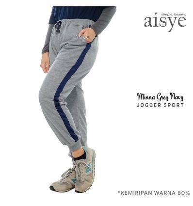 Aisye - Minna Navy Grey Jogger Sport