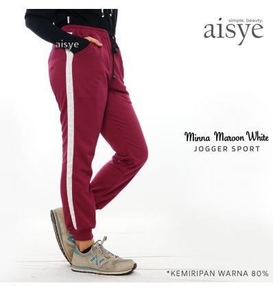 Aisye - Minna Maroon White