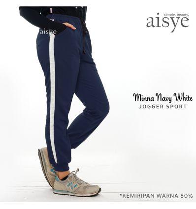 Aisye - Minna Navy White