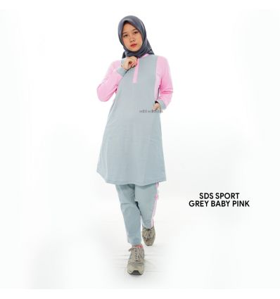 Sulbi - SDS Sports Grey Baby pink
