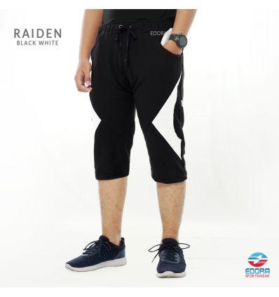Edorasports - Bycle Pants Raiden Black White