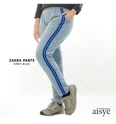 Aisye - Zahra Pants Grey Blue