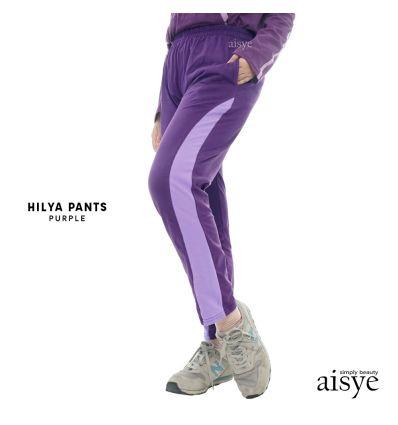 Aisye - Hilya Pants Purple
