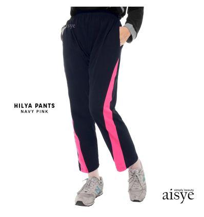 Aisye - Hilya Pants Navy pink