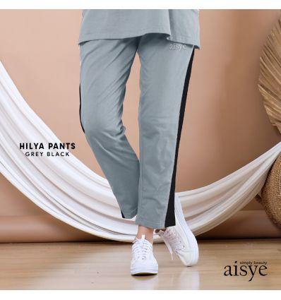 Aisye - Hilya Pants Grey Black