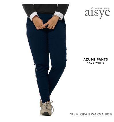 Aisye - Azumi Pants Navy White