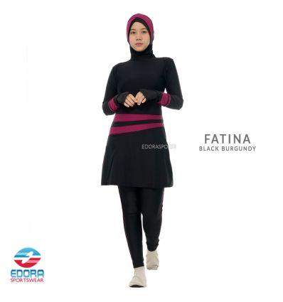 Edorasports - Fatina Black Burgundy