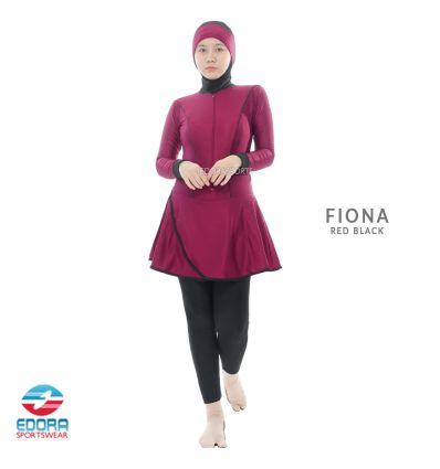 Edorasports - Fiona Black Red