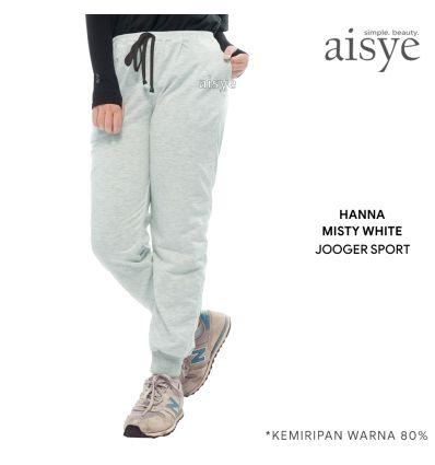 Aisye - Hanna Misty White Jogger Sport
