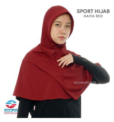Sport Hijab - Haifa Red