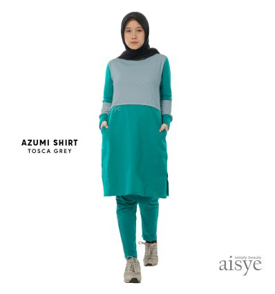 Aisye - Azumi Shirt Tosca Grey