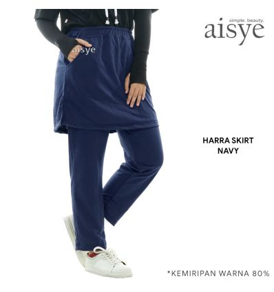 Aisye - Harra Skirt Navy