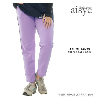 Aisye - Azumi Pants Purple Grey