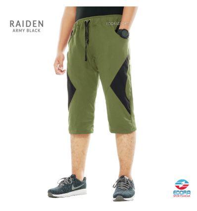 Edorasports - Bicycle Pants Raiden Army Black