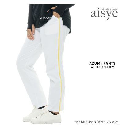 Aisye - Azumi Pants White Yellow
