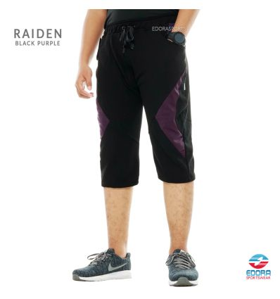 Edorasports - Bicycle Pants Raiden Black Purple