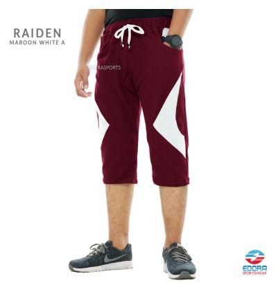 Edorasports - Bicycle Pants Raiden Maroon White A