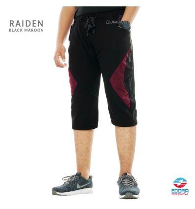 Edorasports - Bicycle Pants Raiden Black Maroon