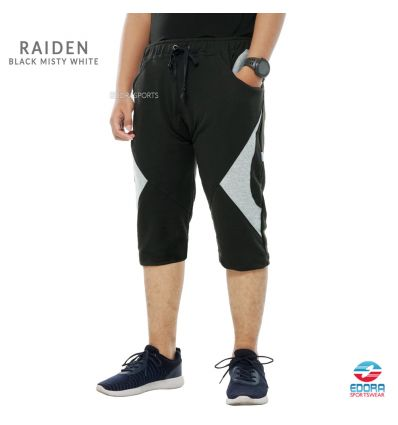 Edorasports - Bicycle Pants Raiden Black Misty White