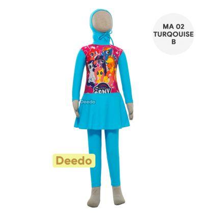 Deedo - MA 02 Turquoise B