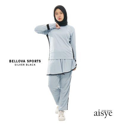 Aisye - Bellova sports Silver Black