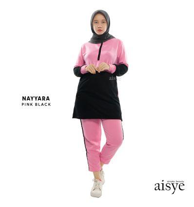 Aisye - Nayyara Sports Pink Black