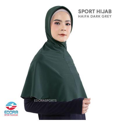 Sport Hijab - Haifa Dark Grey