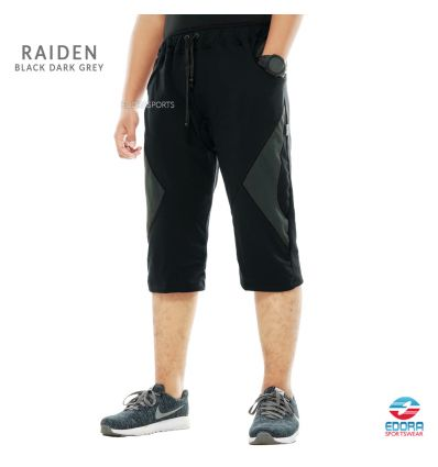 Edorasports - Bicycle Pants Raiden Black Dark Grey