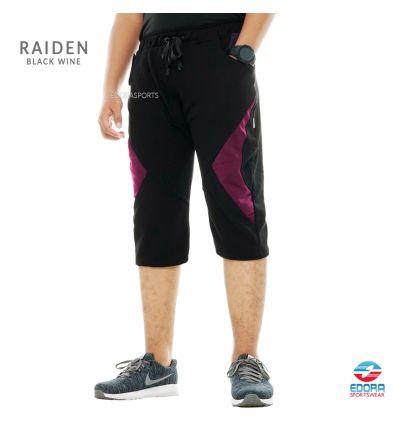 Edorasports - Bicycle Pants Raiden Black Wine