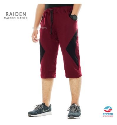Edorasports - Bicycle Pants Raiden Maroon Black B