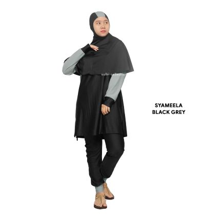 Sulbi - Syameela Black Grey