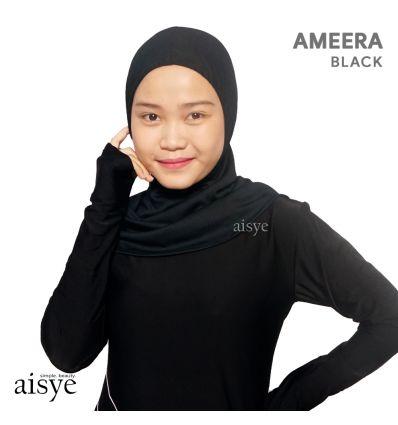 Edorasports - Hijab Ameera sports Black